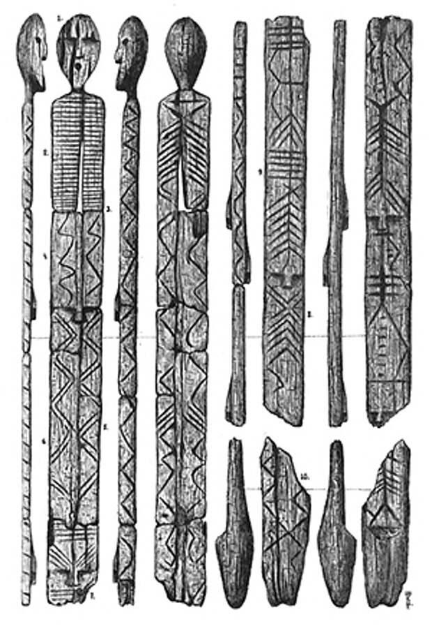 Древнее пирамид.  Ученые уточнили возраст шигирского деревянного идола