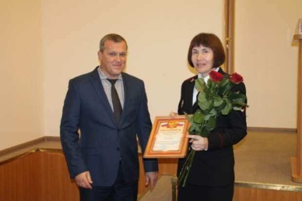 Руководство УВД по САО поздравило сотрудников информационного центра с их профессиональным праздником