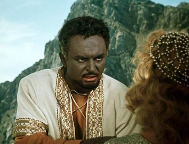 Кадр из фильма «Отелло», 1956 год