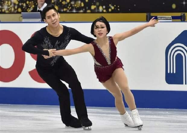Российские фигуристы в парном катании на чемпионате мира в Японии завоевали серебро и бронзу
