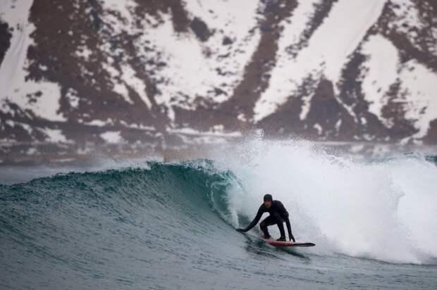 Сёрфинг в Норвегии