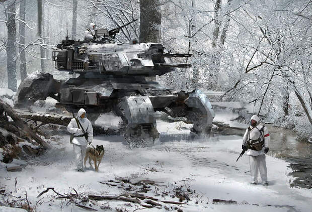 10 танков будущего: Абрамс и Армата против них бессильны