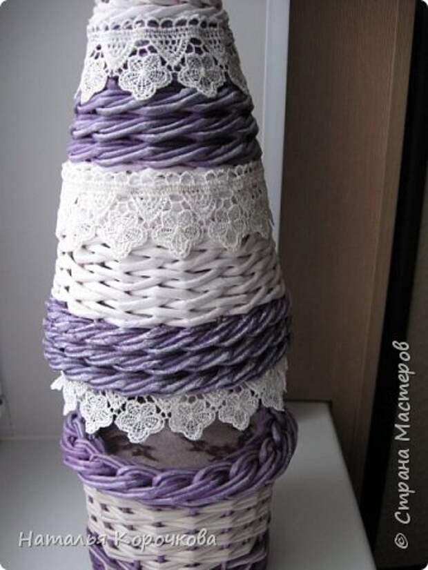 Поделка изделие Плетение Шитьё Корзинка для сушеных трав и еще кое-что Салфетки Ткань Трубочки бумажные фото 11