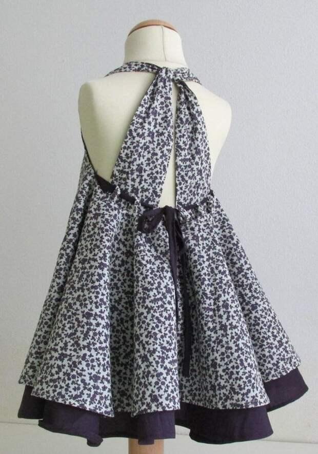 Спинка детского платья