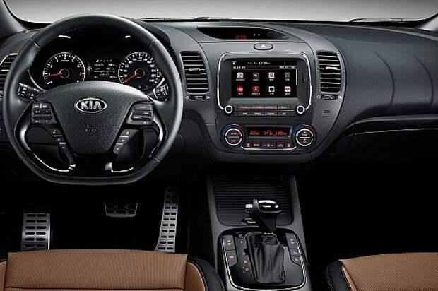Гармония роста: Kia представила рестайлинговый Cerato (ФОТО)