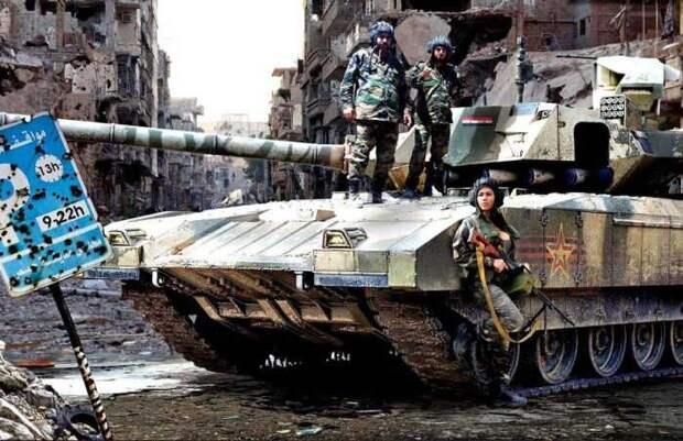 Россия с умыслом направляет в Сирию взвод новейших танков Т-14 Армата