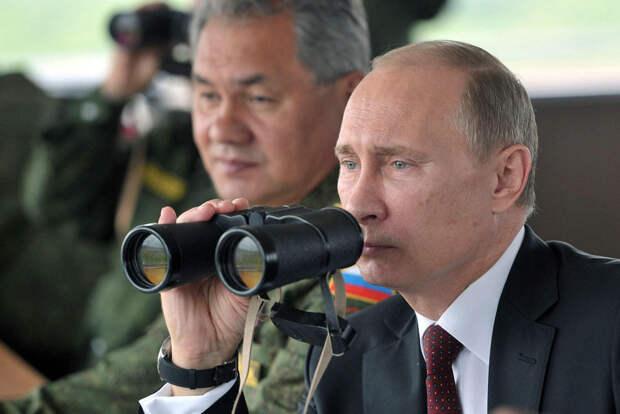 Как Владимир Путин смотрит на вещи