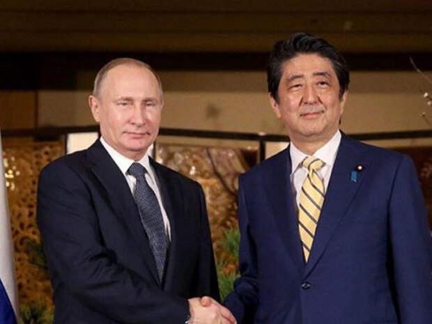 Путин договорился встретиться с Абэ сразу после инаугурации в 2018 году