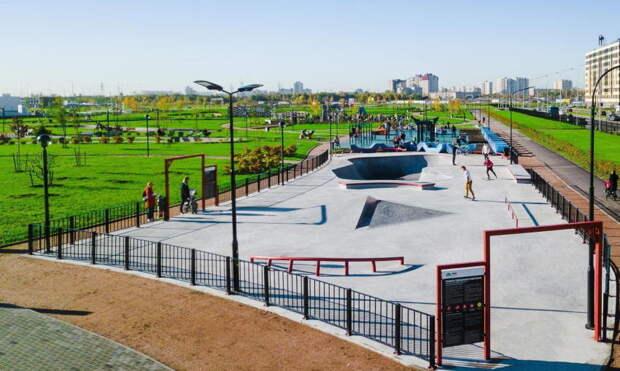 Разумишкин: в Полюстровском парке будет скейт-парк