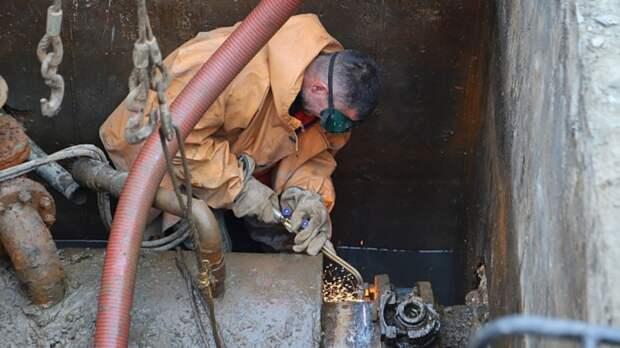 ВВосточном округе вТюмени восстановили водопровод. Возможно ухудшение качества воды