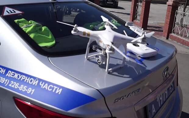 За тобой следит дрон: нарушать правила в России все труднее