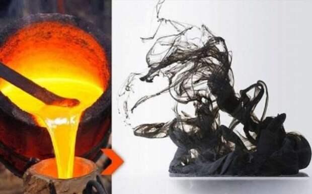 Могут ли железо, ртуть и свинец стать газами