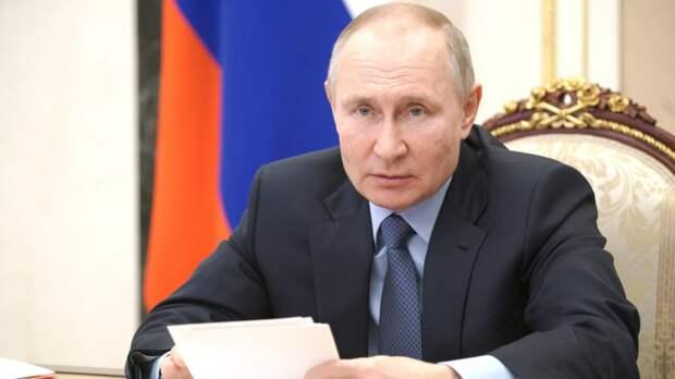Путин оценил роль международного сотрудничества в борьбе с COVID-19