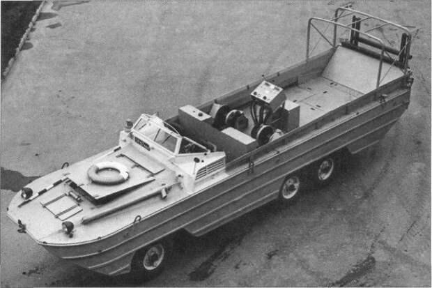 Траулер-амфибия УРОМ-2 создана для нужд советских рыболовов.   Фото: topwar.ru.