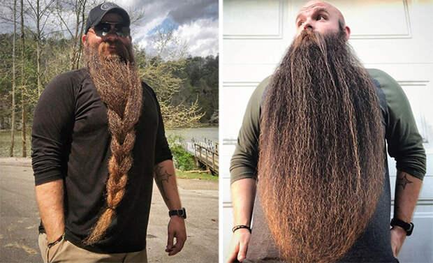 Американец прославился на весь мир благодаря своей бороде (7 фото)