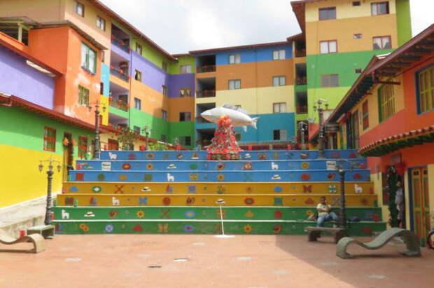 Расписные ступеньки: 32 фотографии лестничного декора в разных городах мира