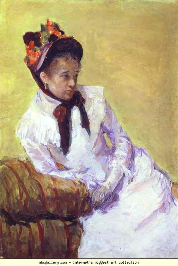 Современная женщина.  Mary Stevenson Cassatt.