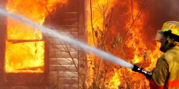 Два человека погибли из-за пожара в общежитиях в Приангарье