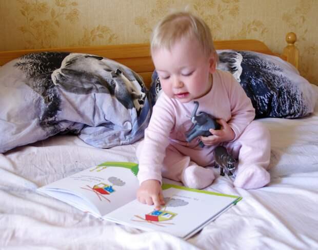 Ребенок 1,5 года читает