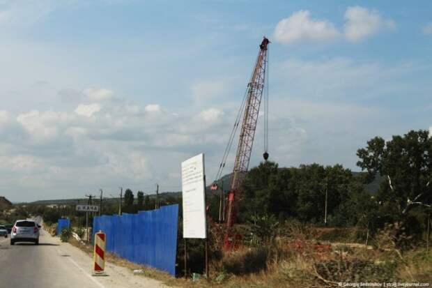 Строительство севастопольского участка трассы «Таврида» идёт полным ходом!
