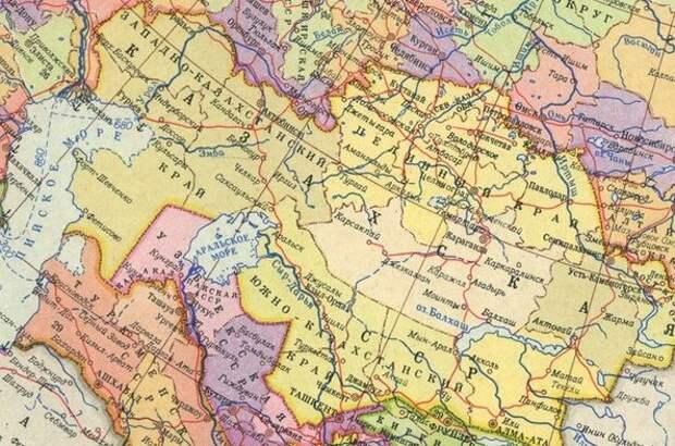 Крым - не единственный или как при Хрущёве меняли границы союзных республик