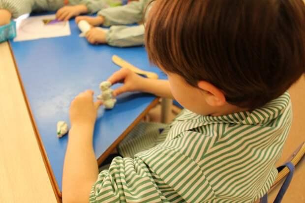 На Большой Академической детей обучат пластилинографии