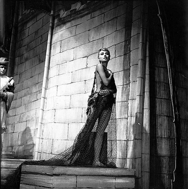 "Одри Хепбёрн. Постановка ""Ундина "" Нью-Йорк , 1954 год."
