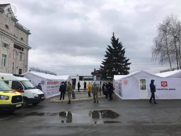 Пассажира московского поезда с вокзала Ижевска отправили в инфекционную больницу