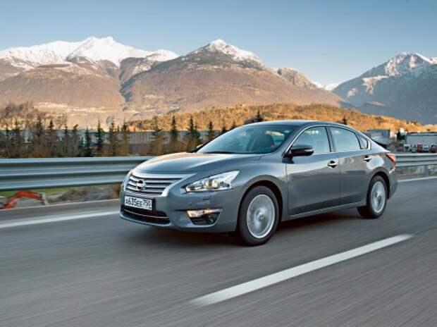 Nissan повысит цены на Teana с апреля из-за изменений в комплектациях