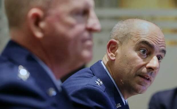 Джеффри Ли Харригян, командующий ВВС НАТО. Источник изображения: https://vk.com/denis_siniy