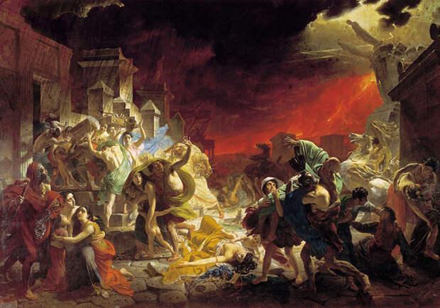 Картина «Последний день Помпеи», 1833, Карл Брюллов.