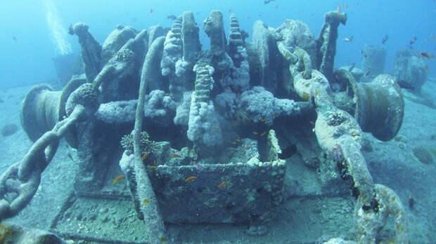 Египтяне нашли в Красном море фрагменты торгового судна, затонувшего в XVIII столетии