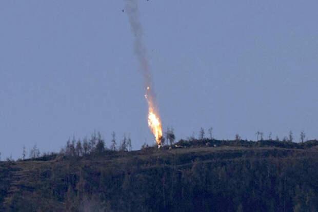 Генштаб: Российский Су-24 был неслучайно сбит 24 ноября