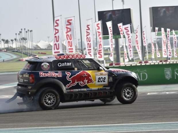 Ралли-рейды: гонка по трассе Формулы 1