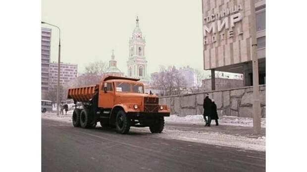 КрАЗ-256 Б из фильма «Мимино» СССР, авто, автомобили, дом кино, кинематограф, кино, подборка, фильм