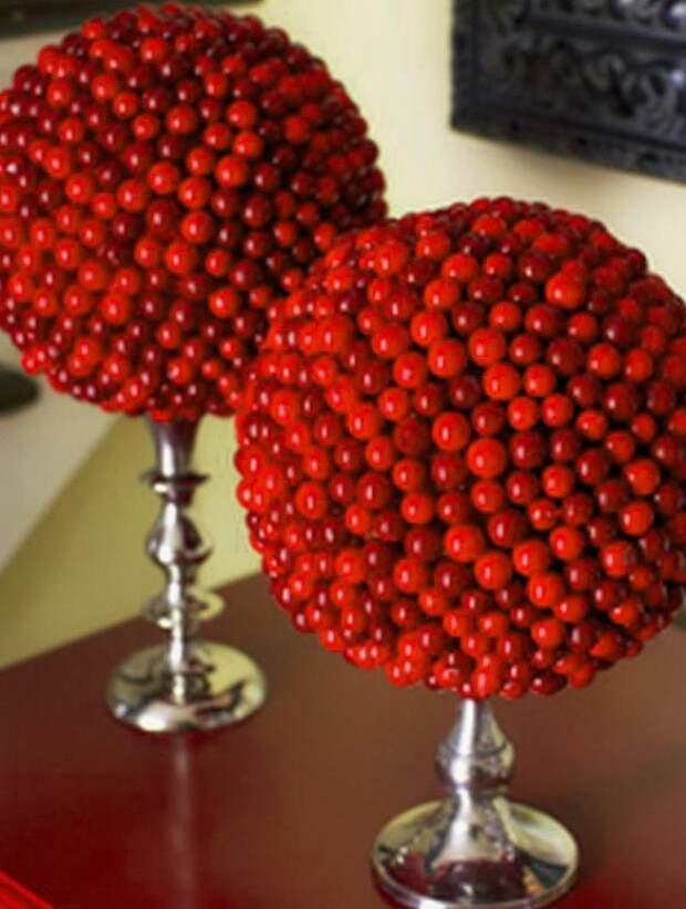 Топиарий из ягод