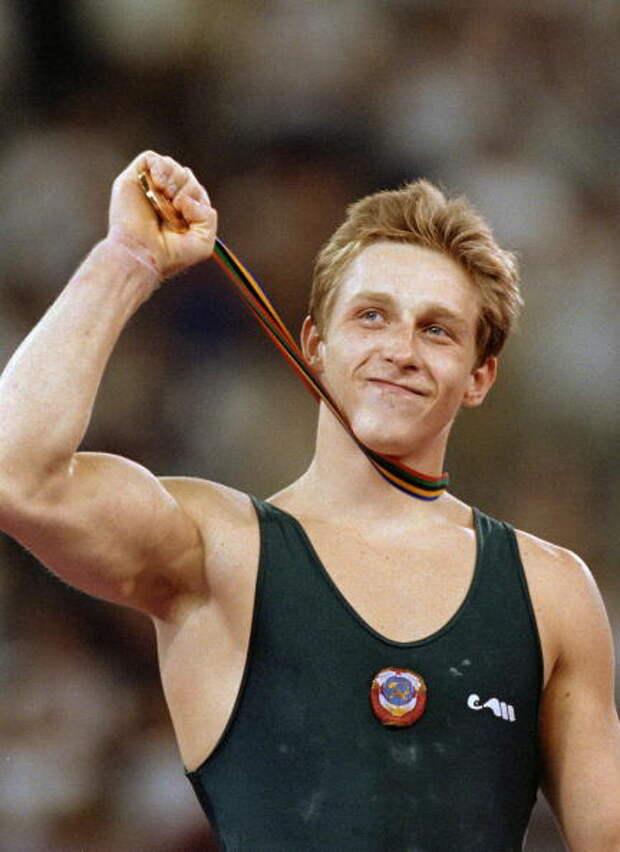 Виталий Щербо - шестикратный олимпийский чемпион 1992 года, один из лучших гимнастов всех времён.