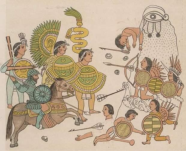 Конкистадоры против ацтеков. Части 3, 4