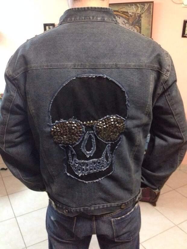 Развеселим скучную джинсовую куртку (DIY)