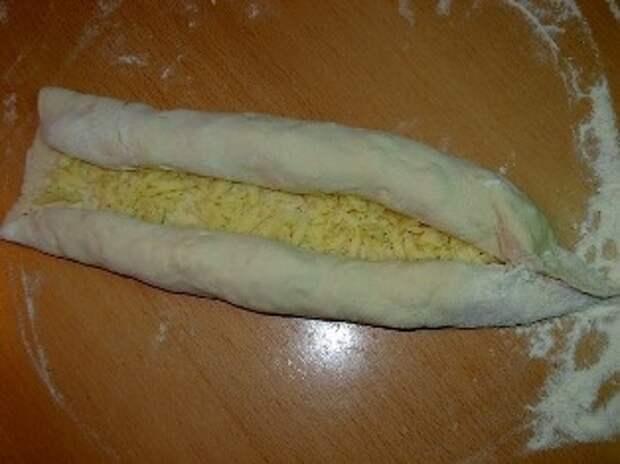 """Лепешки на любой вкус (44). Аджарские хачапури """"Лодочка"""""""