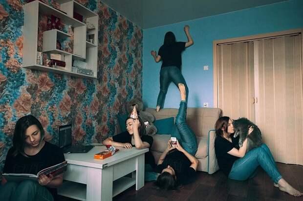 Как это было: 15 креативных фотографий челябинцев осамоизоляции