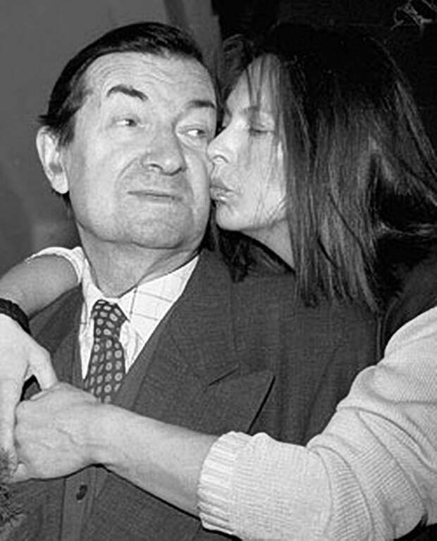 Вицин с дочерью
