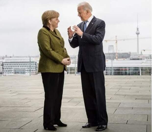 """Не """"хромая утка"""" - Меркель приехала к Байдену в последний раз"""