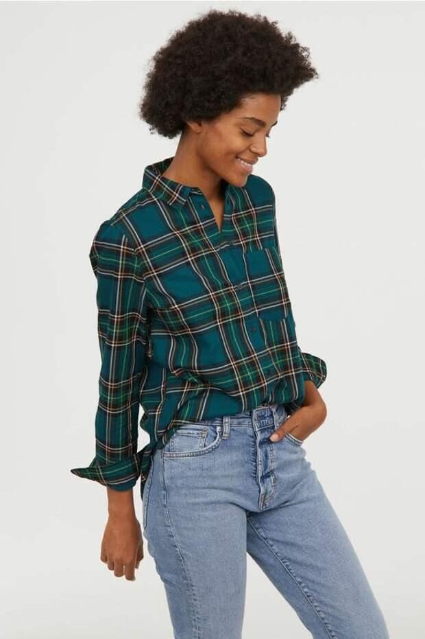Клетчатая рубашка: модный тренд весны 2021