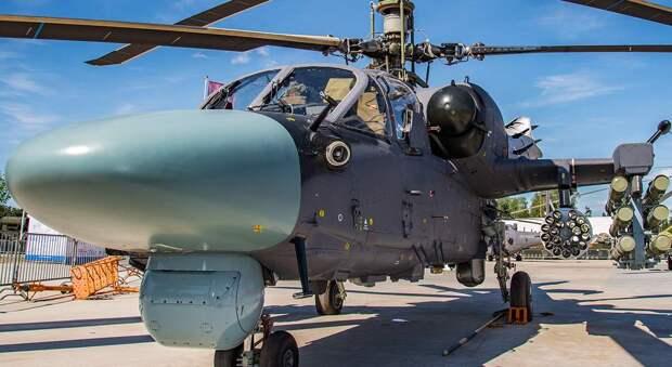 Проблемы вертолёта Ка-52К в Египте