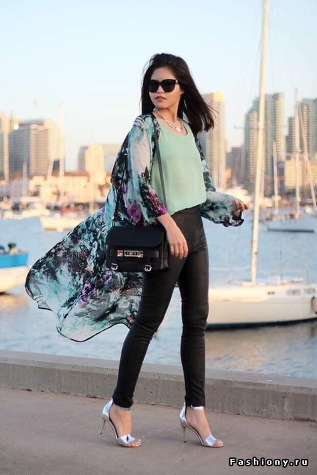 Уличная мода: кимоно в своем многообразии
