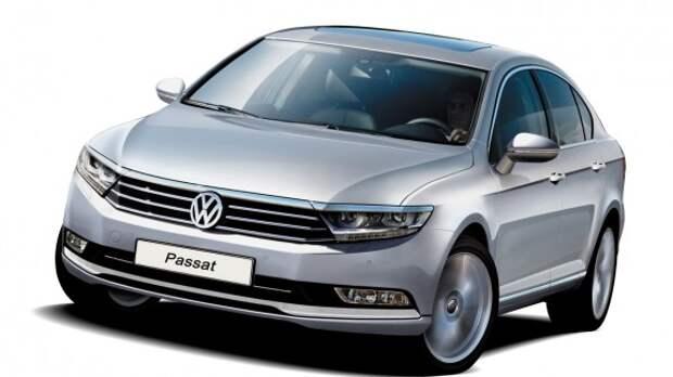 Volkswagen Passat: вот это база!