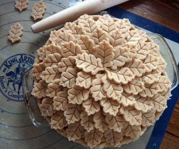 Три креативных осенних пирога
