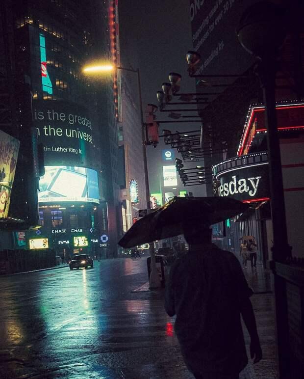 Атмосферные снимки Нью-Йорка, словно взятые из голливудской киноленты