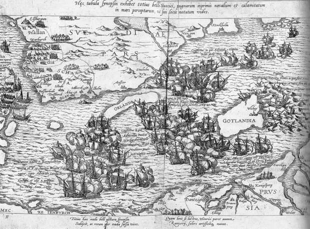 Сражение у Борнхольма, 1563 год - Датский флот Нового времени: становление | Warspot.ru